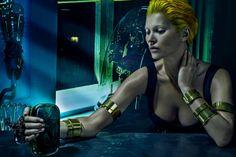 Alexander McQueen Spring/Summer 2014 Campaign featuring Kate Moss