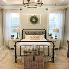 88 Relaxing Rustic Farmhouse Master Bedroom Ideas