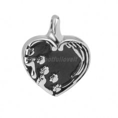 GIONO Pet Memorial Urn Necklace Cat Dog Paw Print Heart Cremation Jewelry Animal Ashes Keepsake Pendant ** Learn more by visiting the image link. (This is an affiliate link and I receive a commission for the sales) Pet Cremation, Cremation Jewelry, Simple Jewelry, Cute Jewelry, Memorial Urns, Dog Memorial, Keepsake Urns, Memorial Jewelry, Jewellery Uk