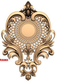Molduras elaboradas Wood Carving Designs, Wood Carving Art, Wood Art, Baroque Design, Baroque Pattern, Pillar Design, Ornament Drawing, 3d Cnc, Wooden Door Design