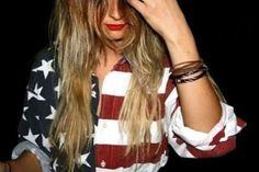 American flag shirt <3