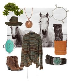 """""""Southwestern charm"""" by christawallace ❤ liked on Polyvore featuring Ralph Lauren, Ariat, Sweet Romance, Bling Jewelry, Southwest Moon, Billabong, Simon Miller and Yves Saint Laurent"""