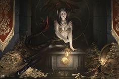 Treasure cave by Aramisdream on DeviantArt