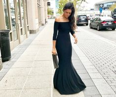 A few months ago I purchased this Norma Kamali gown from Revolve.com and I honestly couldn't wait to wear it. It's been sitting in the back of my closet just waiting for me to finally tear the tags off and slip on. I wore this off the shoulder fishtail gown to a black tie wedding and honestly,...