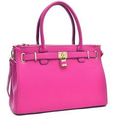 Shop for Dasein Adjustable-top Padlock Tote. Free Shipping on orders over $45 at Overstock.com - Your Online Handbags Outlet Store! Get 5% in rewards with Club O!