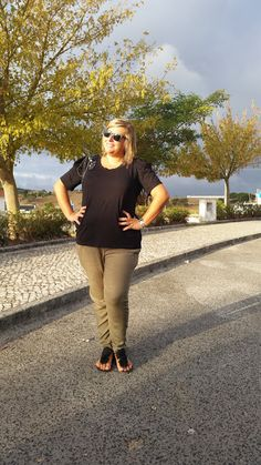 Mary's Big Closet: Black & Khaki