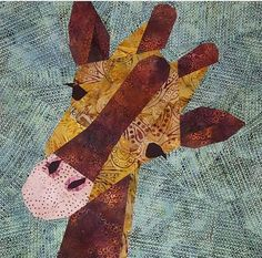 Gina the Giraffe Foundation Paper Piecing Pattern | Craftsy