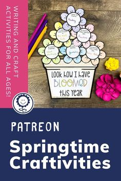 Calling all Patrons! Your April exclusive freebie is now posted! As temperatures warm up and spring is in full bloom, we decided it's time for a fun writing craftivity. There are multiple templates that you can use with your students to practice writing skills such as opinion writing, similes, creative writing, and descriptive details. These craftivities also help your students practice fine motor skills with coloring, cutting, and gluing. And, man, they create cute bulletin board displays. Cute Bulletin Boards, Bulletin Board Display, Writing Practice, Writing Skills, Cool Writing, Creative Writing, Opinion Writing, Simile, Fine Motor Skills
