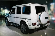 LOVE THE WHITE MY DREAM CAR G63 AMG