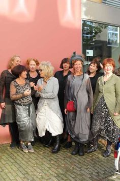 Wouldn't you like to look like these charming ladies in Amsterdam? Photo by MisjaB.nl - mbIMG_1304