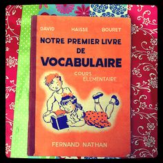 French Vintage book for children  notre by Papeteriedeparis, $20.00