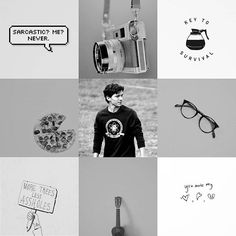Peter Parker/Spider-Man aesthetic.
