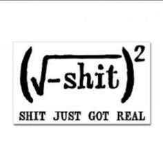 can't get much nerdier than imaginary number math jokes!