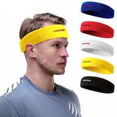 Sports Accessories Sports & Entertainment Aolikes 1 Pcs Weave Elastic Yoga Sweatband For Women Men Running Hair Bands Fitness Sweat Bands Sport Headband Wholesale Fragrant Aroma