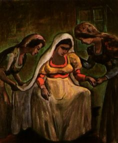 Peinture célèbre de femme nue