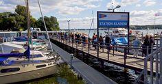 ღღ F10 ferry from Kladow to Wansee, Berlin - the perfect bargain mini-cruise!