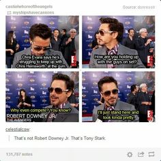 ladies and gentlemen, tony stark!