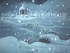 All things moomin. Tove Jansson, Pretty Gif, Maybe In Another Life, Moomin Valley, Studio Ghibli, Vintage Posters, Winter Wonderland, Fantasy Art, Fairy Tales