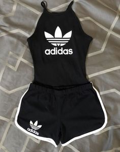 Cute You are in the right place about adidas outfit green Here we offer you the most beautiful pictu Cute Lazy Outfits, Teenage Outfits, Cute Swag Outfits, Sporty Outfits, Athletic Outfits, Outfits For Teens, Stylish Outfits, Fitness Outfits, Simple Outfits