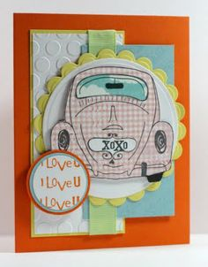 "Unity stamp set ""Love Bug"""