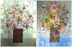 patchwork aquarel