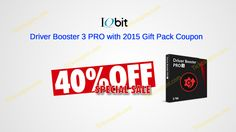 29 best iobit coupon codes 2017 images on pinterest coupon codes 40 off driver booster 3 pro with 2017 gift pack coupon http fandeluxe Image collections