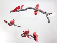 redbird sculptures | Red Bird, Red Bird Birthday Party in red and teal