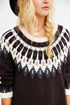 BDG Super Tunic Sweater