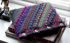 Laptop cover Alcott from my new booklet Reflections using the beautiful yarns in the Poems Collection by Universal Yarn!!