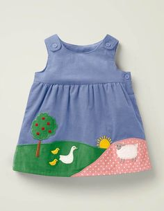 Discover our exciting range of baby dresses at Boden. Cute Little Girl Dresses, Dresses Kids Girl, Little Girl Outfits, Kids Outfits, Toddler Dress, Baby Dress, Toddler Girl, Baby Girl Frocks, Frocks For Girls