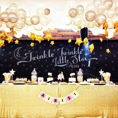 twinkle twinkle little star themed party - 必应 Images