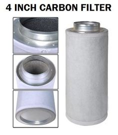4'x10' Standard Filter - Eliminates 99.5% of all odors. 100% Virgin Activated Carbon. Pre-installed Flange. 180 degree maximum operating temperature. Pre-Filter Included. Average 1.5 year life span. T...