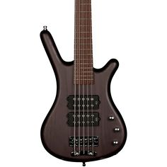 RockBass by Warwick Corvette $$ 5-String Electric Bass Guitar with Wenge Fingerboard Nirvana Black Oil