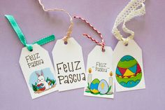 Easter Party, Happy Easter, Free Printables, Scrapbook, Stickers, Christmas Ornaments, Holiday Decor, Handmade, Diy