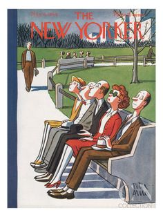 The New Yorker Cover - May 6, 1944 Poster Print by Peter Arno at the Condé Nast Collection