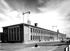Sybold van Ravesteyn, station Hoek van Holland haven1950