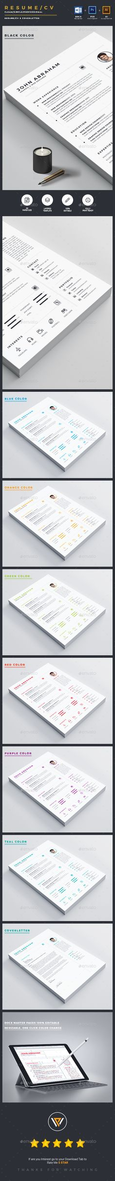 Pin by Hired Design Studio on Resume templates for word Pinterest - resume music