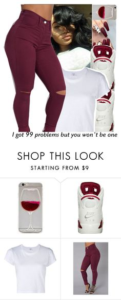 """99 Problems...."" by divap01 ❤ liked on Polyvore featuring RE/DONE"