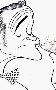 The Last Interview Al Hirschfeld Ever Gave Was To My 10-Year-Old Brother   Co.Design   business + design