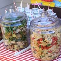 15 easy outdoor party food ideas for a crowd backyard parties, backyard bbq party menu ideas … smoking bbq party ideas! bbq p…, easy backyard party menus food network magazine : recipes and, backyard party menu ideas and to spark up your summer Party Hacks, Party Ideas, Diy Ideas, Soirée Bbq, Fingers Food, Glass Jars With Lids, Glass Containers, Festa Party, Summer Bbq