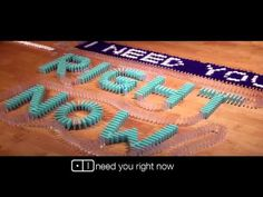 Bethany Mota ft. Mike Tompkins- Need You Right Now (Official Lyric Video) OMG GUYS amazing!!!! :D
