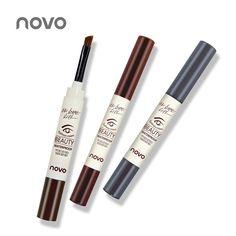 Professional Brand 3 Colors Eyebrow Cream Mascara Gel Make Up Waterproof Eye Brow Gel Pro Beauty Makeup Pen Enhancer With Brush