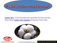 Cotton Yarn Exporter