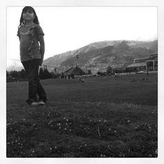 Disfrutando de la vista del Parque del Itchimbía