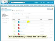 Quick Demo on How You Can Sync Box with Salesforce