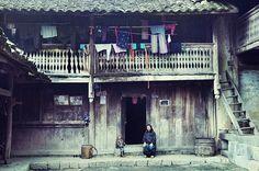"""Nhà của PAO (nơi quay bộ Phim """" Chuyện Của Pao  """" bộ phim đầu tiên nói về Văn Hóa, Cuộc Sống, TÌnh Yêu của người Đông Bắc."""