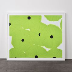 Ten Greens (Poppies), 2006 | Weng Contemporary