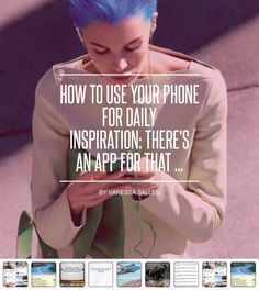 How to Use Your #Phone for Daily Inspiration: There's an App for That ... - Apps