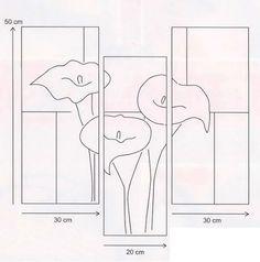Resultado de imagen de dibujos de calas para imprimir