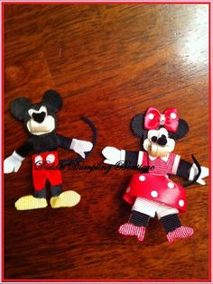 Mickey & Minnie clippie